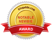 Blogadda NewBie award